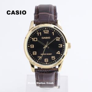 CASIO カシオ 腕時計【MTPV001GL-1B チープカシオ【黒文字盤 メンズ WATCH 時計【送料無料(メール便発送)