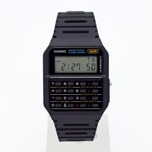 腕時計 メンズ CASIO デジタル CA53W-1 チープカシオ CALCULATOR  メール便 BOXなし 計算機つき|watchcrash