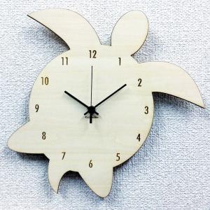 壁掛け時計 CLOCK シルエットが可愛い ハワイアン・アジアンテイスト Silhouette ClockHonu(ホヌ)SK-1007|watchcrash