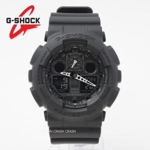 G-SHOCK CASIO カシオ  GA-100-1A1 GA100-1A1 ジーショック g-sgock ブラック 黒  オフィス カジュアル スーツ 男性 メンズ 腕時計