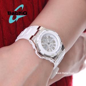 カシオ CASIO Baby-G ベイビーG ホワイト 白 BGA-110-7B  女性 レディース 腕時計