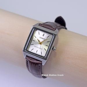 CASIO analog watch  LTP-V007L-9E カシオ アナログ シルバー ゴールド レトロデザイン レディース 腕時計 ビジネス カジュアル