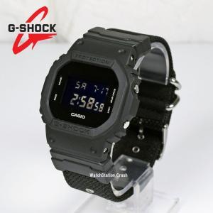 【5年保証】カシオ G-SHOCK Gショック DW5600BBN-1 オールブラック メンズ デジタル 腕時計 Military Black ミリタリーブラック クロスバンド|watchcrash
