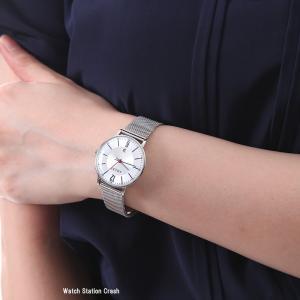 ADEXE アデクス 2043B-05 レディース 女性 腕時計 PETITE 33mm シルバー メッシュ|watchcrash