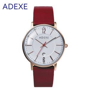 レディース 腕時計 ADEXE 2043B ロンドン ブランド 本革 メッシュベルト 33mm カジュアル スーツ 女性 国内正規品|watchcrash