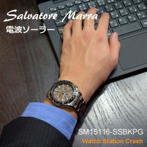 【ソーラー 電波腕時計 電池交換不要】 ■商品品番:SM15116-SSBKPG ■サイズ ・ケース...