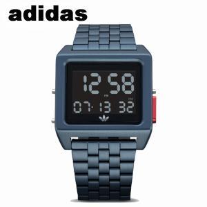 腕時計 adidas メンズ レディース メタリックブルー ブレス オリジナルス Archive_M1 Z013041-00 CK3107|watchcrash