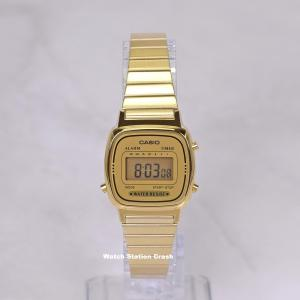 腕時計 カシオ レディース デジタル ゴールド チープカシオ チプカシ LA670WGA-9 BOX...