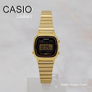 CASIO デジタル ゴールド チープカシオ チプカシ LA670WGA-1 レディース 腕時計 送料無料 / BOX無し|watchcrash