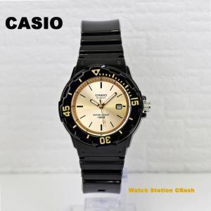 腕時計 レディース カシオ チープカシオ ブラック ゴールド LRW200H-9E 10年保証 BOXなし メール便(10年保証)|watchcrash