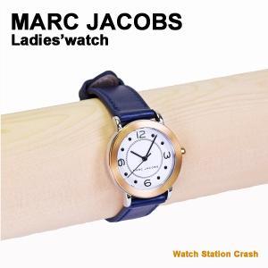 レディース 腕時計 MARC JACOBS MJ1604 マークジェイコブス Riley レディース ブランド ゴールド ホワイト ダイヤル ブラック カーフベルト|watchcrash