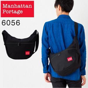 Manhattan Portage ショルダーバッグ メッセンジャーバッグ メンズ mp6056 ブラック トップジッパーノリータバック|watchcrash