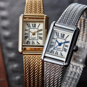【マリメッコ ミニタオル プレゼント中】レディース 腕時計 ヴィーダプラス(Vida+) JM83930 GD ゴールド メッシュベルト|watchcrash