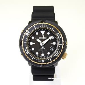 腕時計 メンズ ソーラー SEIKO 防水 セイコー PROSPEX プロスペックス SNE498 ダイバーズ ウォッチ ブラック ゴールド|watchcrash