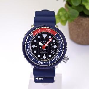腕時計 メンズ ソーラー SEIKO 防水 セイコー PROSPEX プロスペックス SNE499 ダイバーズ ウォッチ ネイビー ブラック ツナ缶|watchcrash