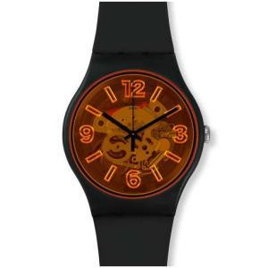 swatch(スウォッチ) オレンジブースト SUOB164 NEW GENT 安心の【2年保証】腕時計 メンズ レディース watchcrash