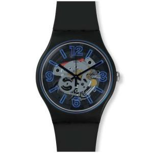 swatch(スウォッチ) ブルーブースト SUOB165 NEW GENT 安心の【2年保証】腕時計 メンズ レディース watchcrash