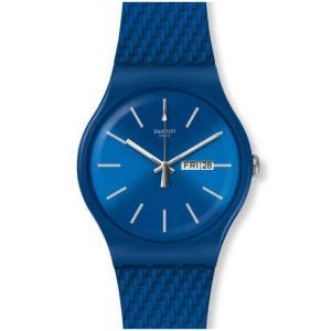 Swatch スウォッチ BRICABLUE ブリカブルー オールブルーのメンズ レディース 腕時計 SUON711 NEW GENT 安心の【2年保証】|watchcrash
