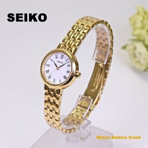 腕時計 SEIKO レディース ゴールド ステンレス ストラップ SURZ464P1 ビジネス カジュアル 贈り物 gift 誕生日 お祝い ラッピング承ります|watchcrash