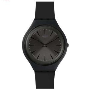 309280c4b2 安心の【2年保証】[日本正規品] swatch(スウォッチ) SKIN スキン SVUB103 ブラック SKINCLASS スキンクラス レディース  メンズ 腕時計