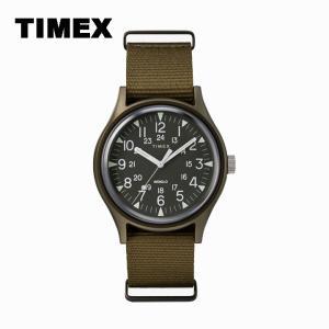 腕時計 メンズ TIMEX CAMPER MK1 アルミニウム ミリタリー ナイロンベルト カーキ TW2R37500|watchcrash