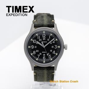 腕時計 メンズ TIMEX MK1 スティール 日本正規品 ミリタリー カーキ TW2R68100 ビジネス カジュアル スタイル|watchcrash
