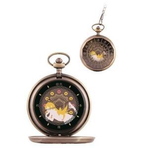 〈物語〉シリーズのオリジナルデザインの懐中時計が登場 忍野忍デザイン  付属の電池はテスト用電池の為...