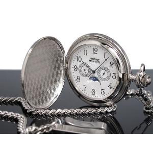 モントレス MONTRES 懐中時計 柄有り 923S-SV-A|watchlist