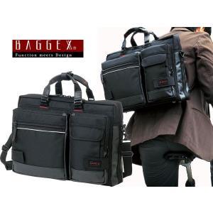 バジェックス BAGGEX 3WAY ビジネスバッグ メンズ 23-5514-10 ブラック watchlist