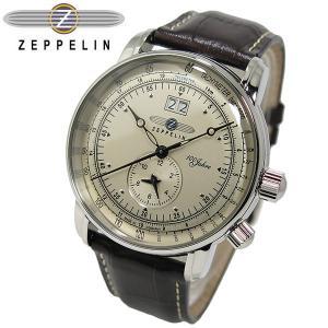 ツェッペリン Zeppelin 100周年 記念モデル LZ1 クォーツ メンズ 腕時計 時計 ウォ...