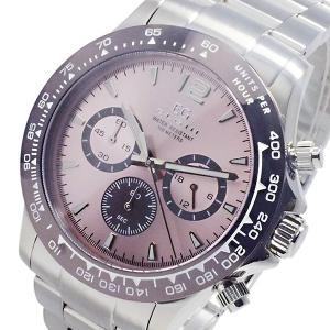 エルジン ELGIN クオーツ クロノ メンズ 腕時計 EG-002-P ピンク|watchlist