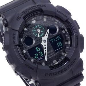 カシオ CASIO Gショック ミリタリーブラックシリーズ メンズ 腕時計 GA-100MB-1A|watchlist
