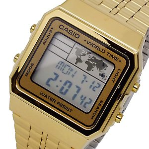 カシオ CASIO デジタル メンズ ワールドタイム 腕時計 A-500WGA-9|watchlist