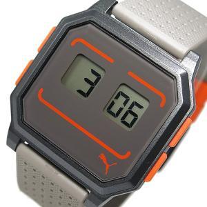 プーマ タイム PUMA リストロボット 腕時計 PU910951013 ダークグレー