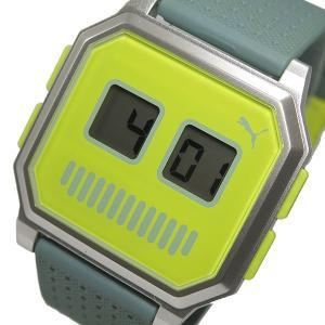 プーマ タイム PUMA リストロボット 腕時計 PU910951014 イエロー watchlist