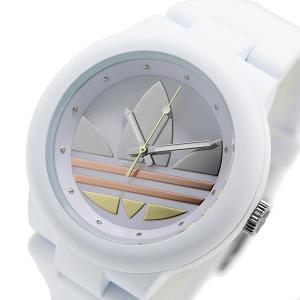 アディダス ADIDAS アバディーン クオーツ ユニセックス 腕時計 ADH9084 ホワイト...