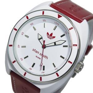 アディダス ADIDAS スタンスミス STAN SMITH クオーツ メンズ 腕時計 ADH9088 レッド...