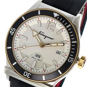 フェラガモ フェラガモ1898 クオーツ メンズ 腕時計 F...