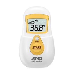エーアンドデイ A&D おでこで測る体温計 UTR701A-JC1 イエロー|watchlist