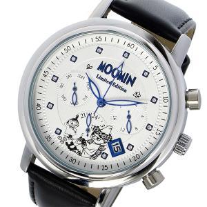 ムーミンウォッチ MOOMIN Watch 500本限定 クオーツ レディース 腕時計 MO-0006B ホワイトシルバー|watchlist