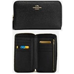 コーチ COACH Medium Zip Accordion Wallet レディース 財布 57726LIBLK|watchlist