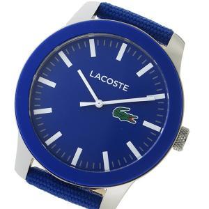 ラコステ LACOSTE クオーツ メンズ 腕時計 2010921 ブルー ブルー