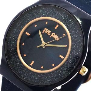 フォリフォリ FOLLIFOLLIE 腕時計 レディース WF16F043ZPU-BL SPARKL...