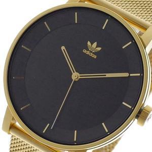 9ede7ccc74869d アディダス ADIDAS 腕時計 メンズ Z04-1604 ブラック ゴールド