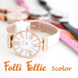 フォリフォリ FolliFollie 腕時計 レディース 選べる 5color WF13B014SS...