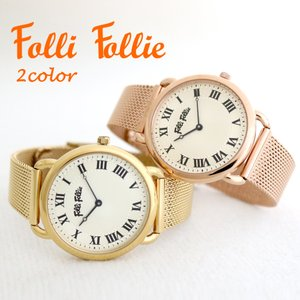 フォリフォリ FolliFollie 腕時計 レディース 選べる 2color wf16r013bp...