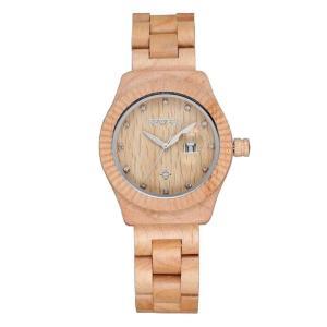 00a12f6070 ビーウェル BEWELL ウッドウォッチ 木製腕時計 女性用 腕時計 レディース ウォッチ ベージュ 43230-34769