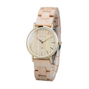 f061dbbfeb ビーウェル BEWELL ウッドウォッチ 木製腕時計 女性用 腕時計 レディース ウォッチ ベージュ ZS-W163AL-MP-EU