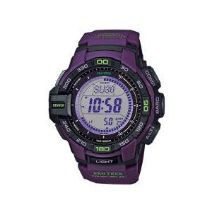 CASIO カシオ PROTREK プロトレック ソーラー トリプルセンサーVer.3 PRG-270-6AJF パープル メンズ 腕時計