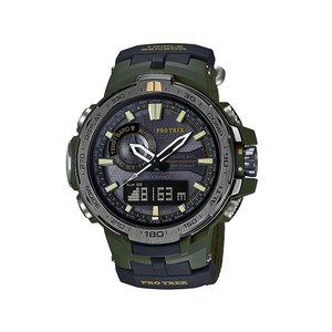 CASIO PRO TREK プロトレック メンズ 腕時計 トリプルセンサーVer.3 PRW-6000SG-3JR  替えバンド付